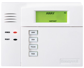 Honeywell standard keypad