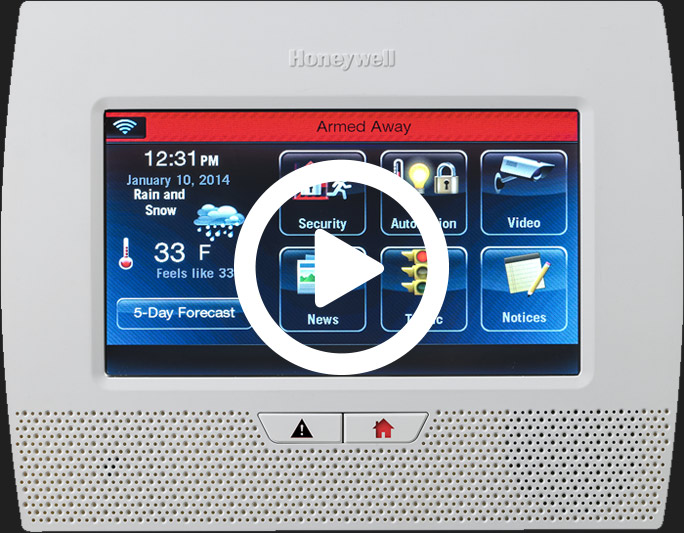 Honeywell LYNX Touch - Play Video